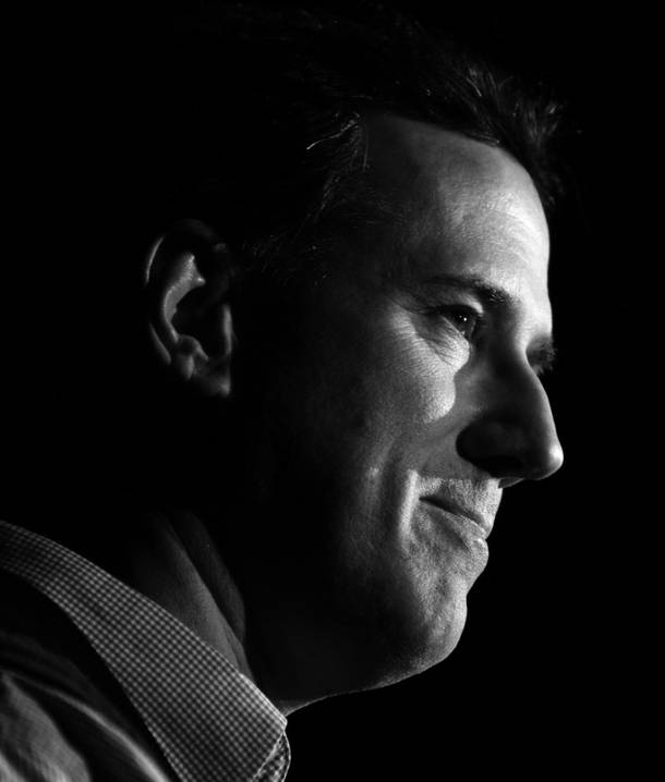 Rick Santorum -- yeah, he really doesn't stand a chance.
