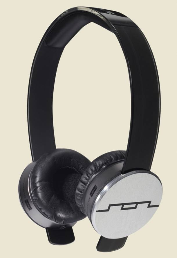 Steve Aoki's headphones need to look cool. Thus, Sol Republic.