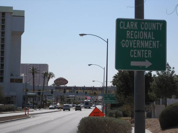 Under its current city plan, Laughlin left its casinos to Clark County.