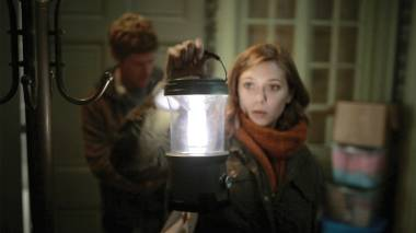 Elizabeth Olsen hurtles toward a cliche-filled ending in 'Silent House.'