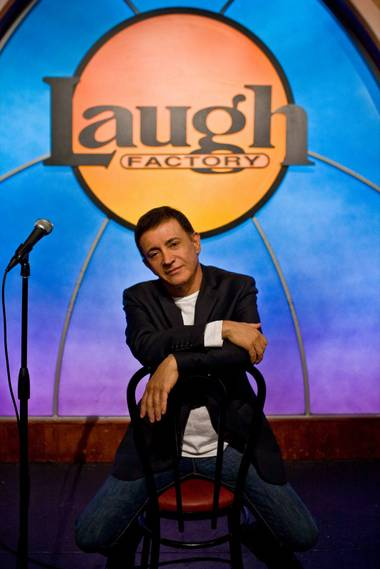 Laugh Factory owner Jamie Masada.