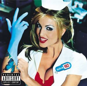 Blink 182's 1999 album <em>Enema of the State</em> featuring adult actress Janine Lindemulder
