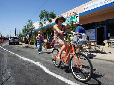An idea with wheels: Green Jelly transformed Main Street into two days of urban revival fun.