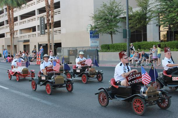 It's not a parade without the Shriners.