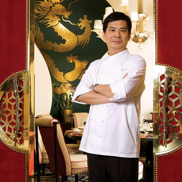 Chef Ming Yu of Wing Lei restaurant at Wynn.