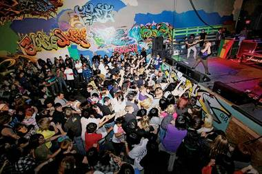 Tim Thurtle used to stage all-ages shows at Area 702 Skate Park.