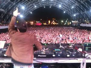 Markus Schulz, before Night 2's EDC shutdown.