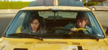 Are we having fun yet? Aubrey Plaza and Mark Duplass are an odd couple indeed in Safety Not Guaranteed.