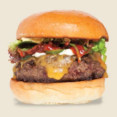 This is it, your last chance to enjoy Bradley Ogden's classic burger.