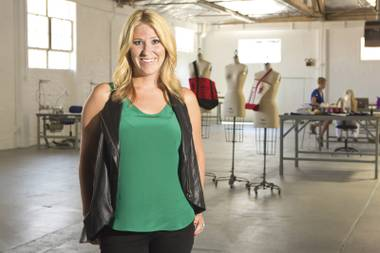 Fashion forward: Meghan Boyd inside Fashion Lab, a coworking design space set to open Downtown.