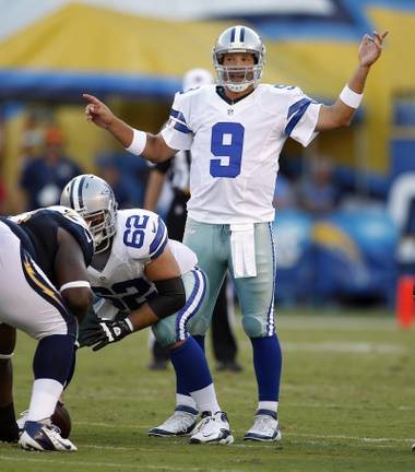 Tony Romo and the Cowboys are currently an 18-to-1 pick to win the Super Bowl.