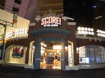 The space at Score! cost $2 million to develop, and the memorabilia is worth much more. It is on loan from halls of fame and ...
