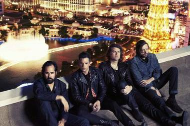 Tickets go on sale Friday for The Killers' December Cosmopolitan shows.