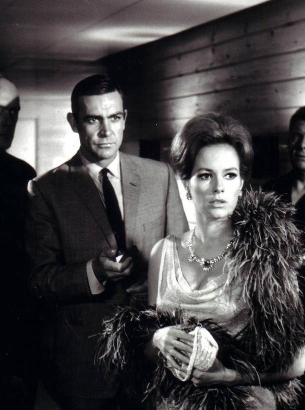 Sometimes bad is better. Luciana Paluzzi in Thunderball.