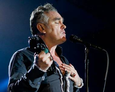Morrissey is expected to reschedule his remaining U.S. dates.