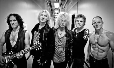 Def Leppard will play nine shows at the Joint in March and April.
