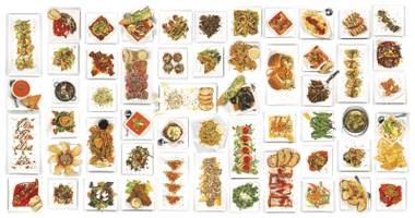 What happened after he finished all 54 tapas on the menu? He ranked them, of course.