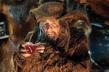 Radagast the Brown is barely in the novel The Hobbit, but gets plenty of screen time in the film version.