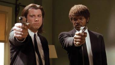 Thanks to Quentin Tarantino, John Travolta and Samuel L. Jackson had plenty of memorable things to say in Pulp Fiction.