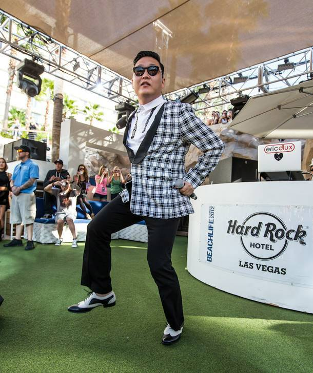 Psy celebrates his birthday this weekend with a live performance at Pure.
