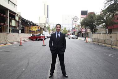 Working in Vegas casinos is in his blood, and he's ready to bring something new to Downtown.