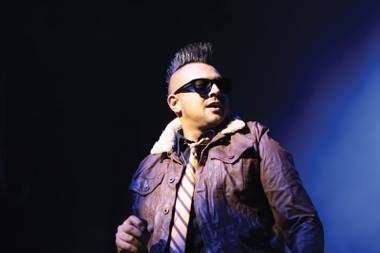 Sean Paul plays host at Tao Friday night.
