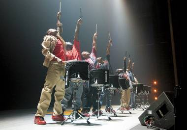 Rhythm nation: Drumline Live hits the Smith Center this weekend.