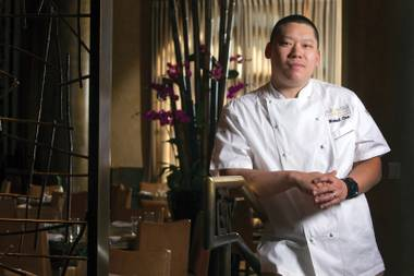 Chef Michael Chen has been in the kitchen at Yellowtail since the Bellagio sushi hot spot first opened.