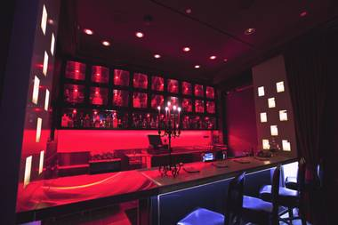Scarlet is small but strong, a sexy new cocktail micro-lounge at the Palms.