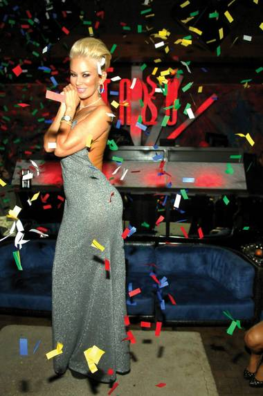 Jenna Jameson rocked Tabu during AVN weekend.