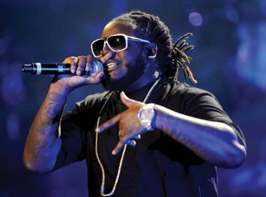 T-Pain kicks off his Haze residency on Saturday.