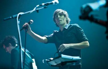 Phoenix frontman Thomas Mars, shown here in January 2010.