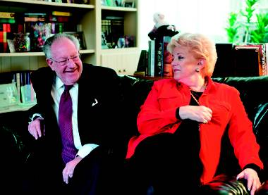 This year marks the 51st anniversary for former Las Vegas mayor Oscar Goodman and his wife, Carolyn, the current mayor.
