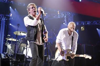 Daltrey and Townshend rock the Joint this weekend.