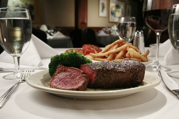 The beef is back: Ruth's Chris Steakhouse is open at Harrah's.