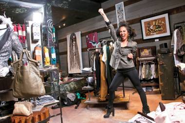 Downtown boutique Coterie is a wild blend of hip fashions, coworking locals and intrigued first-timers. Leading the charge is founder Sarah Nisperos, who says she dresses for whatever mood is speaking the loudest on a given day.