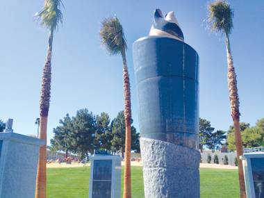 The Garden of Dreams monument was recently dedicated at Palm Downtown Mortuary and Cemetery.