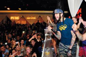 Travie McCoy attacks Pure on March 16.