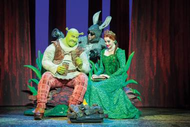 Shrek the Musical wraps up its run at the Smith Center this weekend.