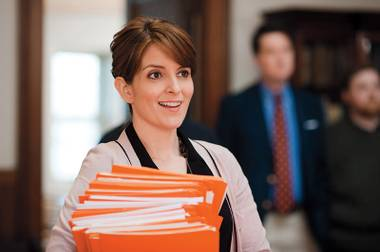 Tina Fey plays yet another version of Liz Lemon in the sudsy Admission.