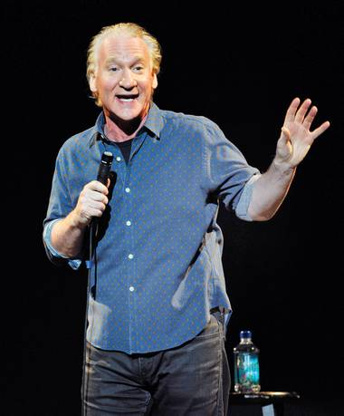 Gun control, racism, the Pope, it's all fair game when Bill Maher steps on the Pearl stage.