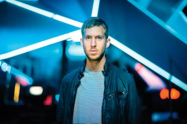 Great Scot: Calvin Harris brings beats to Wet Republic this weekend. Do Scots tan or burn?