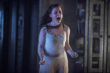 Instead of scaring us, this photo from the Evil Dead remake just makes us want to reach for the moisturizer. Yuck.