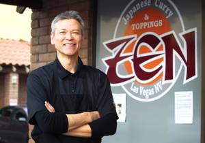 Japanese Curry Zen chef Takaya Zembayashi.