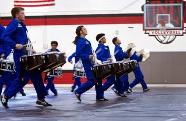 Vegas Vanguard is out for gold at the world championships for indoor percussion in Dayton, Ohio, April 18-20.