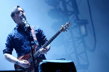 "Modest Mouse got so chatty during Day 1 at Coachella that the band went over its time limit and fest sound personnel cut the sound in the middle of ""Float On."""