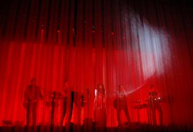 Trent Reznor's latest project played its third-ever show at the Pearl on April 13.