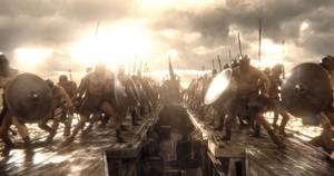 <em>300: Rise of an Empire</em> is built around the battles of King Xerxes.