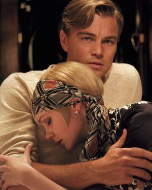 Carey Mulligan and Leonardo DiCaprio in <em>The Great Gatsby</em>.