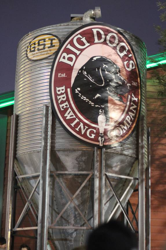 Big Dog's originally opened as the Holy Cow! Brewing Company.